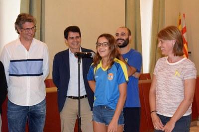 Felicitació al Club Bàsquet Igualada pels seus exits esportius