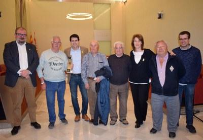 Felicitació al Fàtima d'Igualada Club Petanca
