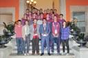 Felicitació als equips B i Juvenil de l'Igualada Hoquei Club