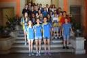 Felicitació als equips de base del Club Bàsquet Igualada