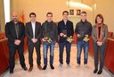 Felicitació als pilots anoiencs del Dakar 2016