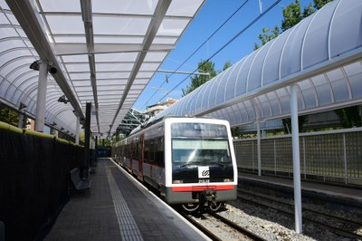 FGC renova les cobertes de l'estació d'Igualada