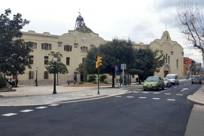 Finalitza la primera fase d'obres a la Plaça Castells