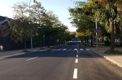 Finalitzen els treballs d'asfaltatge a Igualada