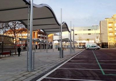 Finalitzen les obres de reforma de la Plaça de la Masuca