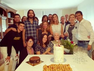 Florentina González celebra el seu centenari
