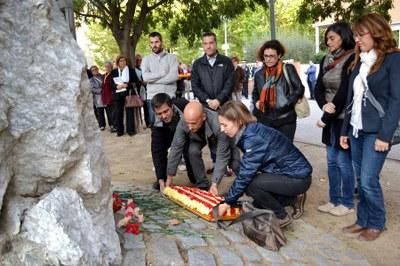 Homenatge pel 75è aniversari de la mort de Lluís Companys