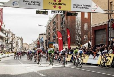 Igualada acollirà el final de la 4a etapa de la Volta a Catalunya