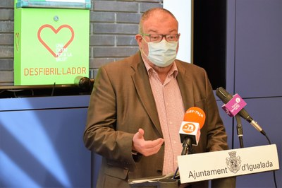 Igualada amplia la xarxa de cardioprotecció