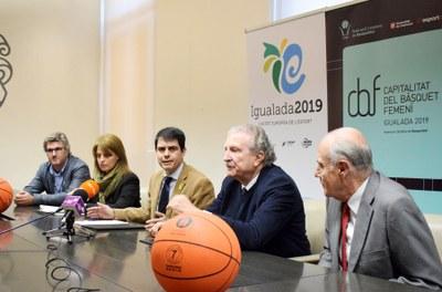 Igualada tindrà la Capitalitat del Bàsquet Femení 2019