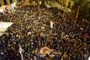 Igualada rebutja l'empresonament dels presidents d'Òmnium i ANC