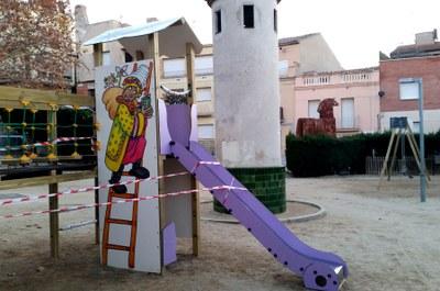 Igualada estrena diumenge el parc infantil dels Reis