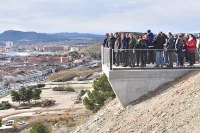 Igualada estrena el Mirador de Montserrat i un nou tram d'Anella Verda