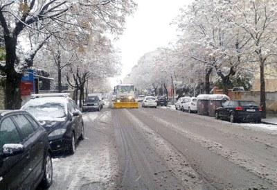 Igualada rebaixa el Pla de Nevades d'emergència a alerta