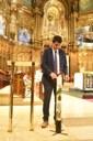 Igualada renova la tradició del Ciri Votiu a Montserrat