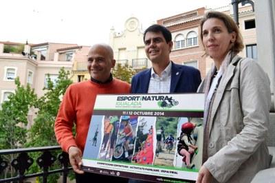 Igualada rep a l'octubre el festival Esport i Natura