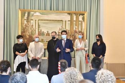 Igualada reprèn l'ofrena del Ciri Votiu a Montserrat amb la participació de 200 persones