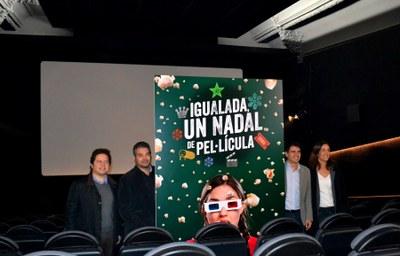 """Igualada viurà """"un Nadal de pel·lícula"""""""