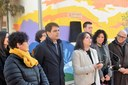 Inaugurada la remodelació de la plaça d'Alcàntara