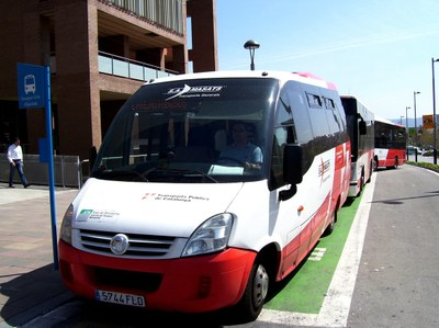 Increment del bus urbà durant el 2014