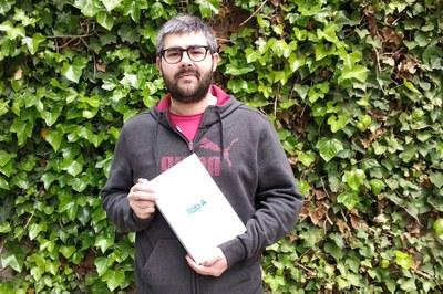 Joan-Josep Esteban, guanyador del Joc del Comerç de Mostra Igualada