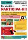Joventut obre termini per presentar projectes a l'agenda 'Impuls'