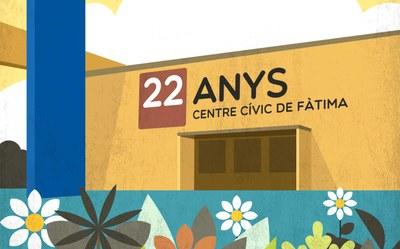 L'11 de març, aniversari del Centre Cívic de Fàtima