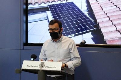 L'Ajuntament d'Igualada aprova les subvencions per la col•locació de plaques fotovoltaiques en immobles