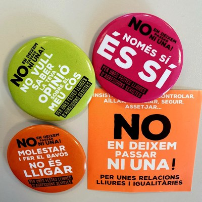 L'Ajuntament d'Igualada establirà aquest any amb dos punts liles durant la Festa Major