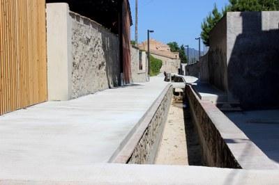 Finalitza la primera fase de millora del carrer del Rec