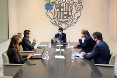 L'Ajuntament d'Igualada i la Cambra de Comerç de Barcelona col·laboren per ajudar conjuntament el teixit productiu