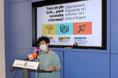 L'Ajuntament d'Igualada impulsa ajuts de fins a 20.000€ per rehabilitar habitatges buits i destinar-los a lloguer assequible