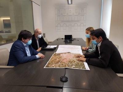 L'Ajuntament d'Igualada rep la cartografia topogràfica urbana 3D del municipi realitzada per la Diputació de Barcelona