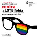 L'Ajuntament d'Igualada se suma als actes amb motiu del Dia Internacional contra la LGTBIFòbia