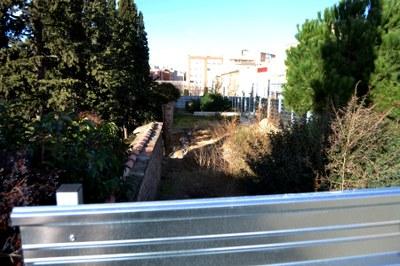 L'Ajuntament repararà aquest any el mur caigut al Cementiri Vell