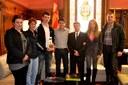 L'Ajuntament reconeix els mèrits esportius d'Àlex Solomka
