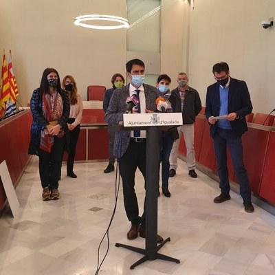 L'alcalde, Marc Castells, demana a la Generalitat un perímetre comarcal que permeti la mobilitat interna entre els municipis de l'Anoia