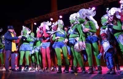 L'Associació Camp del Rei, millor comparsa de la Rua de Carnaval