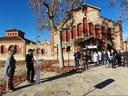 La consellera Alba Vergés i l'alcalde, Marc Castells, demanen a la ciutadania que extremi les mesures de prevenció durant el període nadalenc