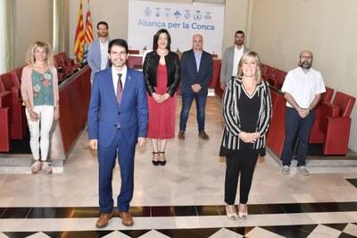 La Diputació de Barcelona aportarà 5,5 milions al pla de reactivació econòmica de la Conca d'Òdena