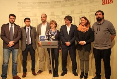 La Generalitat de Catalunya fa costat als ajuntaments denunciats