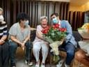 La igualadina Enriqueta Cisquella i Farriol celebra cent anys