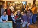 La igualadina Maria Romeu Solà celebra cent anys