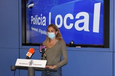 La Policia Local denuncia 881 infraccions relacionades amb les mesures sanitàries durant el primer trimestre d'aquest any