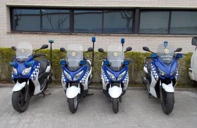 La Policia Local incorpora sis noves motocicletes
