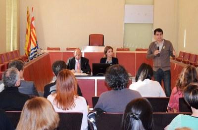 La UdL acosta el seu projecte als centres educatius d'Igualada