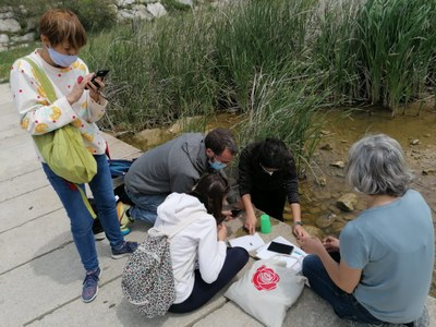 La Xarxa d'Escoles per la Sostenibilitat d'Igualada participa en una jornada formativa per donar a conèixer l'entorn natural i la biodiversitat als centres