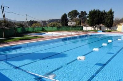 L'Ajuntament amplia la zona de platja de la piscina del Molí Nou