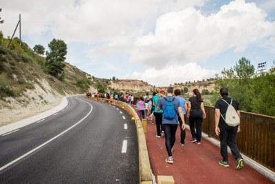 L'Ajuntament crea el mapa 'Caminant per Igualada'
