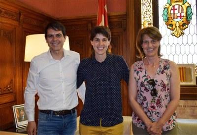 L'Ajuntament felicita Marta Cubí per la seva trajectòria